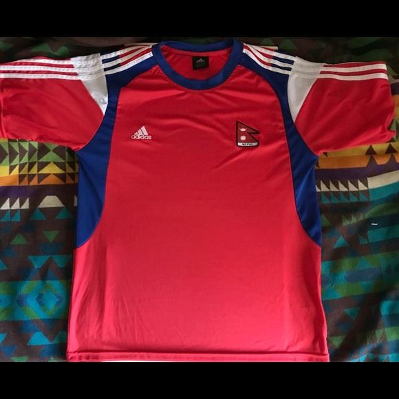 d8c6c6f1b Adidas Shirts | Authentic Nepal National Team Soccer Jersey | Poshmark